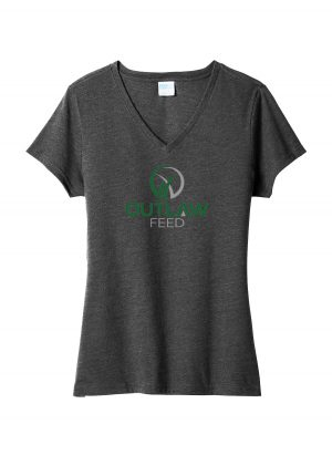 Outlaw Feed Women's V-Neck T-shirt